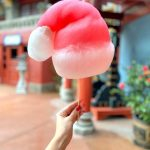 CONFIRMED! Santa Hat Cotton Candy Is The MUST-GET Holiday Snack at Disney World!
