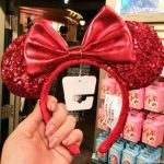 NEWS! Redd Minnie Ears Are NEARLY SOLD OUT in Disneyland!