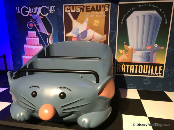 NEWS! Something's Different At Remy's Ratatouille Adventure in EPCOT!