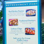 REVIEW! We're SOLD on the Lobster Chips and Hard Cider at Refreshment Port for the 2020 Epcot Festival of the Arts!