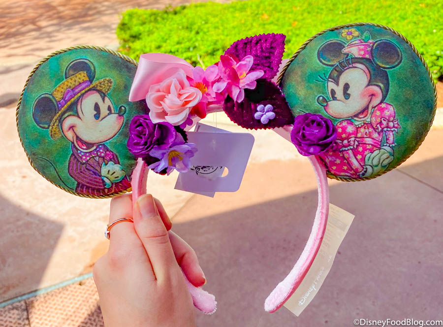 We Love The New Dapper Designer Ears At Epcot S Festival Of The Arts The Disney Food Blog