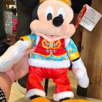 CUTE ALERT! The Mickey and Minnie Lunar New Year Plushes Are Taking a Bow in Disney World!