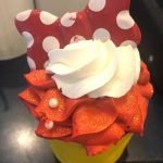 There's a NEW Fruity Minnie Mouse Cupcake in Disney World!
