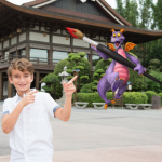 Get Your Festival of the Arts On With The NEW Figment Magic Shot and Butterfly Walls at Epcot!