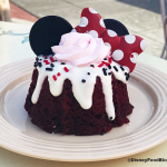 No Bundts About It! This New Polka-Dotted Cake in Disneyland is Absolutely Adorable!