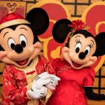 We're Swooning Over The Lunar New Year Mickey and Minnie Pandora Charms in Disney World!