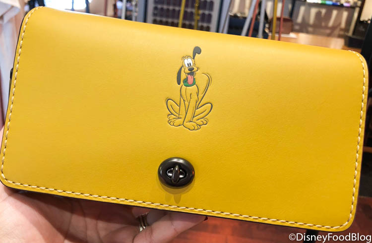 The New Disney X Coach Line Featuring Donald Duck Is Selling Out Fast In Disney World The Disney Food Blog