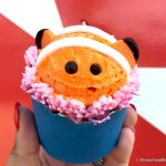 Review! We FOUND a Nemo Cupcake Swimming Around Disney World!