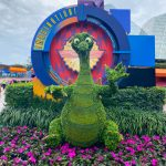 Sneak Peek: See Some of the Disney Topiaries and Food Booths at Epcot BEFORE the 2020 Flower and Garden Festival!