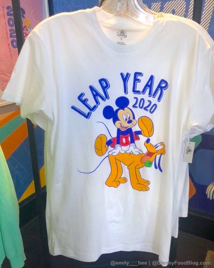 It's LEAP DAY And A New Tee Hopped Into Disney World To