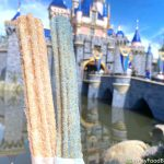 Review! Make It Pink AND Blue with the New Sleeping Beauty Churros in Disneyland!