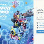 HURRY! FastPasses Are NOW AVAILABLE For Mickey and Minnie's Runaway Railway in Disney World!
