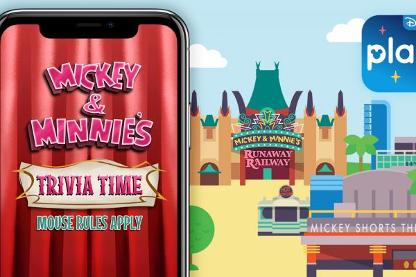 News! Mickey and Minnie's Runaway Railway in Disney's Hollywood Studios Coming to Play Disney Parks App!