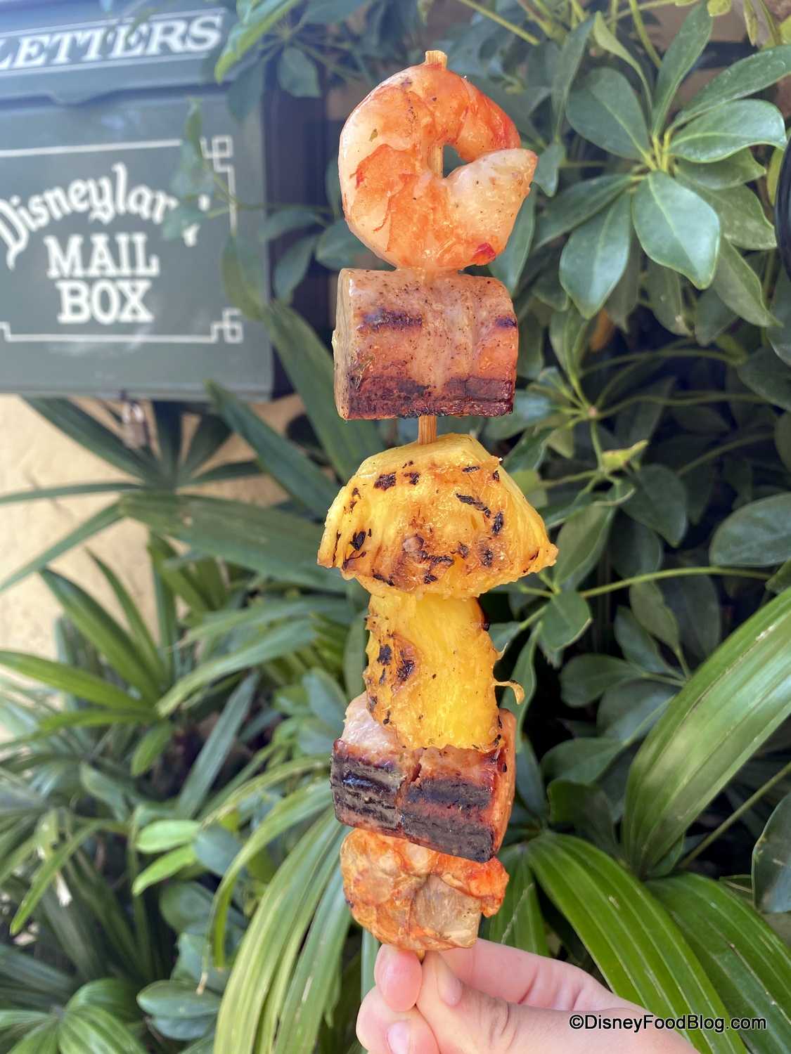Review! We're Snacking on the NEW Specialty Skewer at Disneyland's Bengal Barbecue