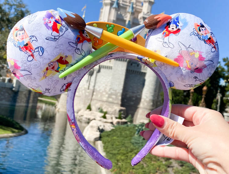 These New Ink And Paint Minnie Ears At Disney World Are Everything The Disney Food Blog Bloglovin