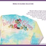 "Take a Sneak Peek at the 2020 Epcot Flower and Garden Festival ""World in Bloom"" Spirit Jersey!"