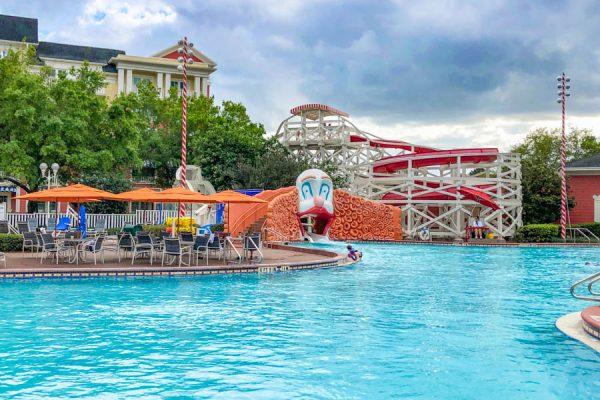Is the Infamous Clown Slide Gone for GOOD at Disney's BoardWalk Inn!?