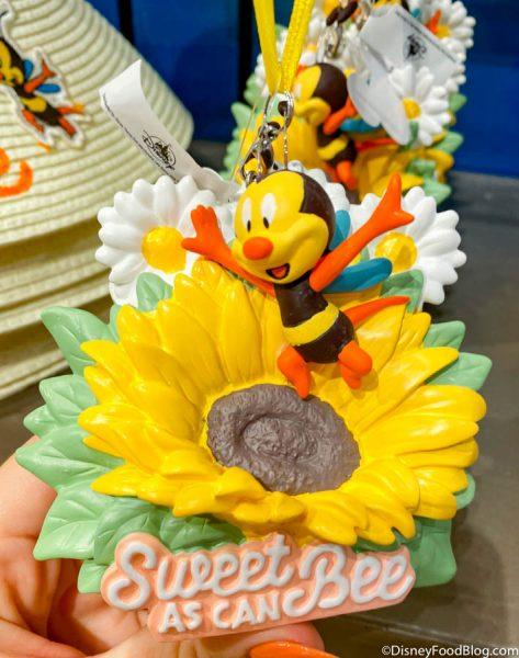Disney Epcot 2020 Flower /& Garden Festival Spike Sweet As A Bee Ornament