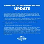 Universal Studios to Close Resort Hotels and CityWalk Locations Temporarily