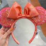 Act Fast! NEW Coral Minnie Ears Are Now in Disney World!