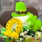 Review! We're Gettin' Jiggy With This Returning St. Patrick's Day Cupcake in Disneyland Resort!
