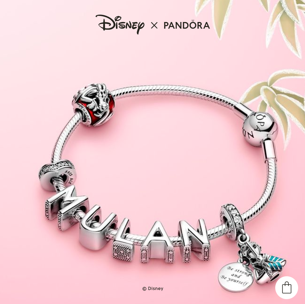 This NEW Pandora Collection Was Created By Disney's Very Own Toy ...