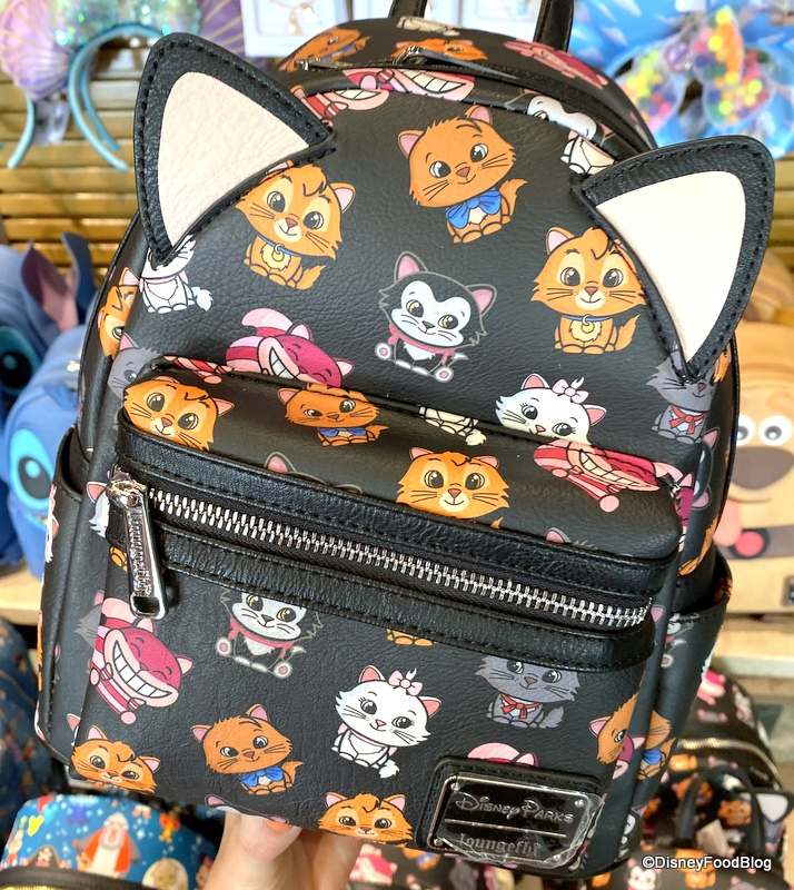 Do You Love Marie Or Pluto Then You Re Gonna Love These New Disney Pets Loungefly Backpacks The Disney Food Blog