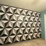 Missing Epcot?! Find Out How You Can Paint a Spaceship Earth Wall IN YOUR HOUSE!