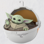 Spotted! This Hallmark Baby Yoda Ornament Is The Keepsake You've Been Looking For!