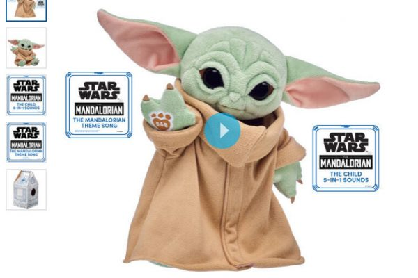 Brace Yourselves, Round 3 of the Build-A-Bear Baby Yoda Plush Is Coming!