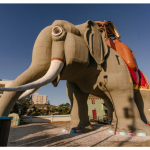 """Hold Up! """"Lucy the Elephant"""" From Disney World's BoardWalk Hotel ACTUALLY EXISTS and It's Now an Airbnb?!"""