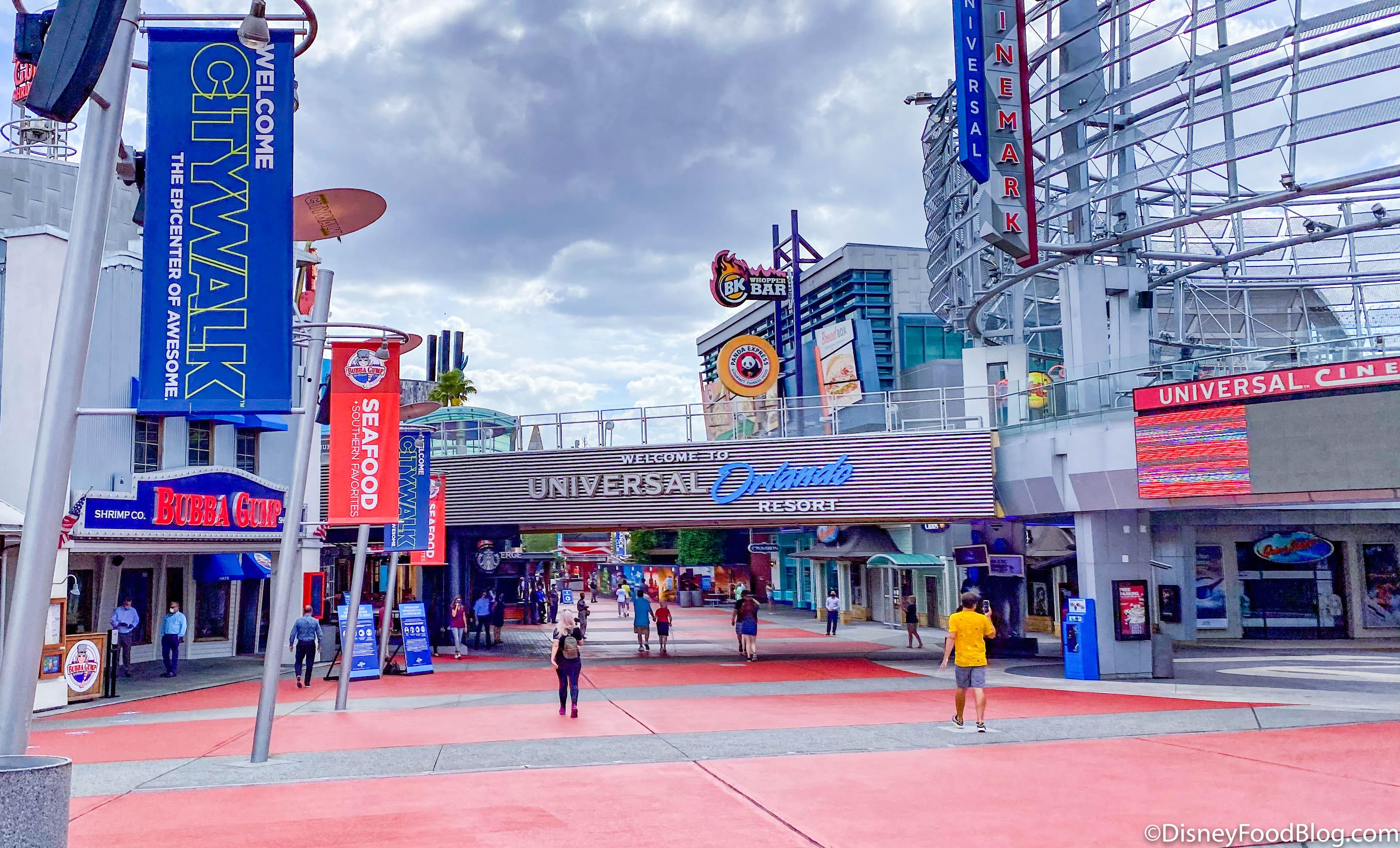 Reopening Of Universal Orlando S Citywalk