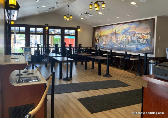 Indoor Seating Is BACK at This Classic Ice Cream Spot in Disney Springs!