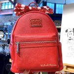 Spotted: Sequined Minnie Mouse Loungefly in Disney Springs!