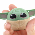 Find Out Where You Can Snag THIS Itty Bitty (And ADORABLE!) Baby Yoda Bluetooth Speaker