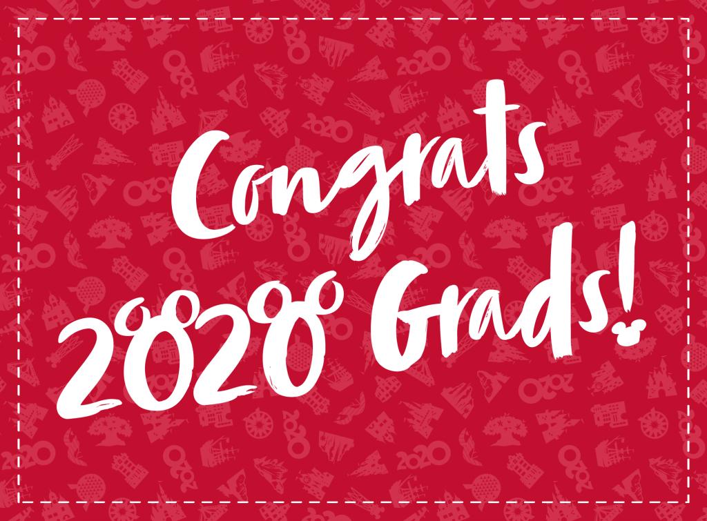 Create Some Disney Magic For Your 2020 Grad The Disney Food Blog