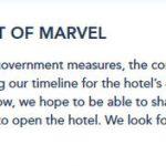 NEWS: Opening Date Postponed for Disney's Hotel New York — The Art of Marvel in Disneyland Paris