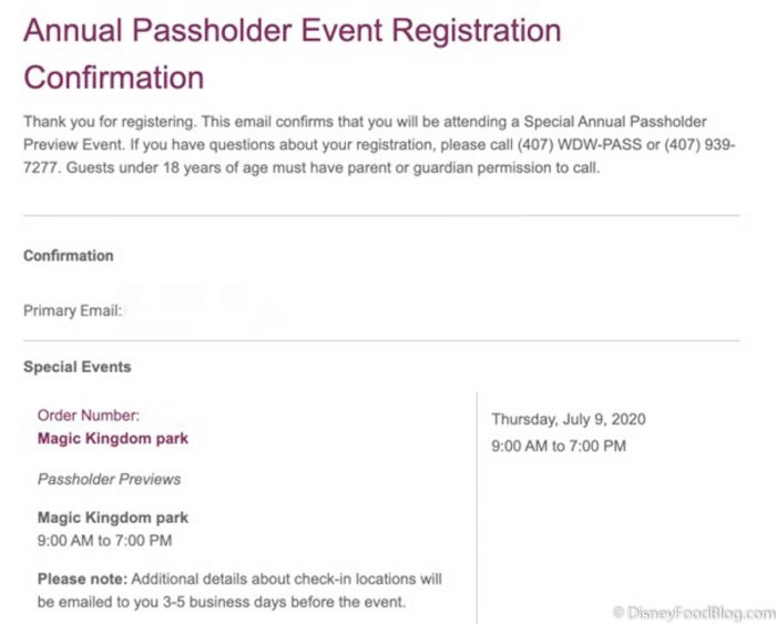 NEWS: Registration For Disney World's Annual Passholder Previews Is NOW LIVE!