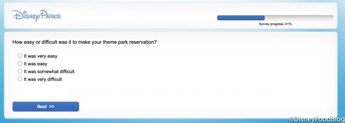NEWS! A Disney World Park Pass Experience Survey Has Been Sent To Select Guests…And It's Got Some Interesting Questions!
