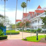 "You've Gotta See This Photo of ""The Great BLUE Wall"" at Disney's Grand Floridian Resort!"