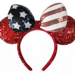 Show Off Your Red, White, and Blue SPARKLE With Disney's NEW Minnie Mouse Americana Ears — Now Available Online!