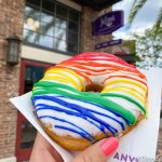 Review! There's a New JUMBO Rainbow Donut in Disney World!