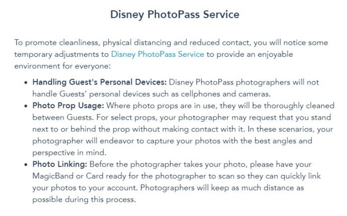Here's How Disney's PhotoPass Service Will CHANGE When Disney World Reopens