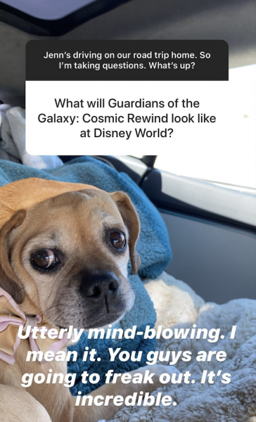Guardians of the Galaxy: Cosmic Rewind in Disney World Is Going to be 'Utterly Mind-Blowing,' According to Director