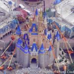 You've GOTTA See How Construction Is Progressing on Cinderella Castle in Disney World!