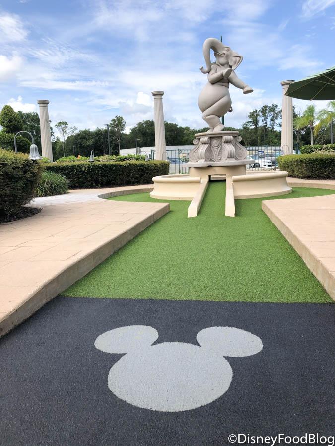 News And Photos Disney World S Fantasia Gardens Mini Golf Course Is Open The Disney Food Blog