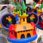 Spotted! The NEW Rainbow Collection Ear Hat Ornament at World of Disney Features Mickey and Minnie With a Colorful Castle