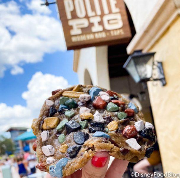 This New Disney World Cookie Already Has Undergone a HUGE Change!
