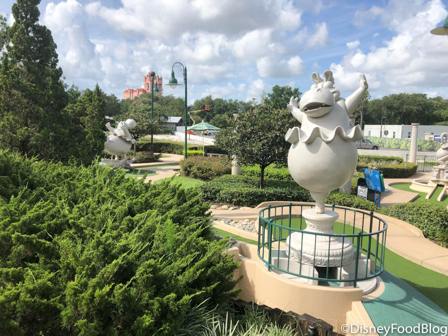 News and PHOTOS: Disney World's Fantasia Gardens Mini Golf ...