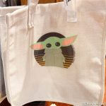 Find Out Where You Can Make A Customizable Baby Yoda Tote Bag in Disney World!